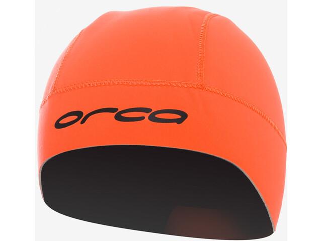 2bd8f5d41df ORCA Swim Hat Badehætte orange   Find cykeltilbehør på nettet ...